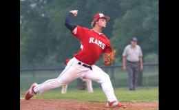 Ram starting pitcher Riah Nelsen was recently named to the Sports Spotlight All-State Baseball second team for Class 3A. Nelsen, a senior, graduated from Greene County high school in May.