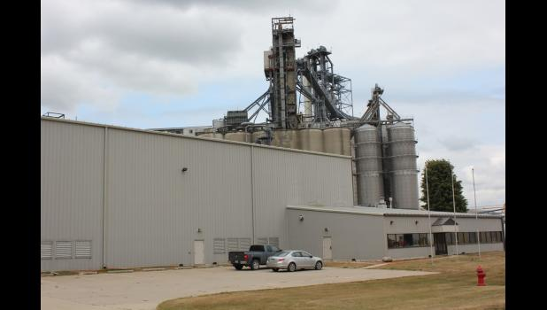 Cutline: The former Nichii soy flaking plant in Jefferson will be revived this summer by Landus Cooperative to distribute and eventually manufacture cattle feed. CONTRIBUTED PHOTO