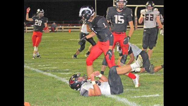 Greene County pulled off a thrilling, overtime win against Clarinda Oct. 2, securing their third straight win to improve to 4-2 overall.  BRANDON HURLEY | JEFFERSON HERALD