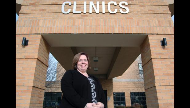 Heather Wilson left her job as a nurse in the Women's Health Clinic at the Greene County Medical Center to become a psychiatric mental health nurse practitioner. Newly board certified, she was snatched back up to work in the Greene County Family Medicine Clinic. ANDREW McGINN   JEFFERSON HERALD