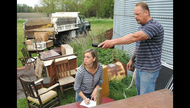 """Shawn and Jennie Olson, of Jefferson, are set to appear on four episodes of DIY Network's """"West End Salvage."""""""