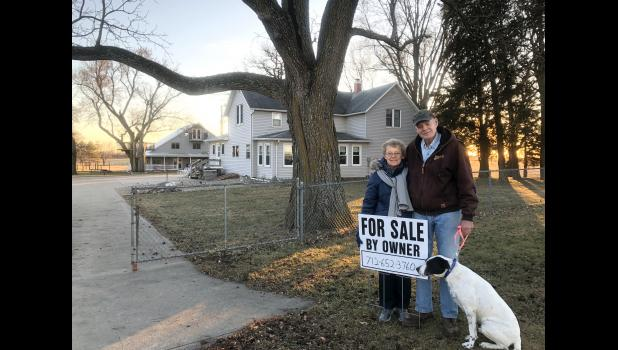 The decision to sell John 15 Vineyard hasn't been easy for Nancy and Dean Rogers, who left the hustle and bustle of Omaha for a simpler life in the countryside. They're both now in their mid-70s. CONTRIBUTED PHOTO