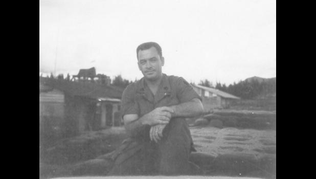 Kendall pictured in Vietnam on July 20, 1969. The Jefferson native had been working with Army Special Forces in Southeast Asia as far back as the late 1950s.