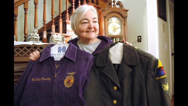 Now 70, Thompson was one of the first girls in the country to join FFA, and she was the only girl to enlist in the military from a graduating class in Illinois of more than 350. ANDREW McGINN | JEFFERSON HERALD