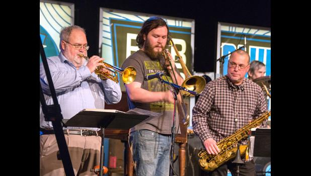 "Jefferson's Al Naylor (far left) will be seen March 4 on a new IPTV special, ""Bob Dorr and the Blue Band: Encore."" IPTV PHOTO BY PATTY FOSTER"