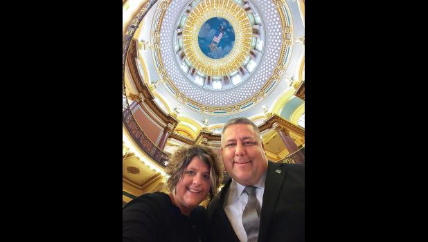 A Jefferson native, Luft and his wife of nearly 19 years, Wendy, are hoping that Iowans could soon get a chance to become organ donors when buying a hunting or fishing license. Their plight took them last week to the state Capitol.