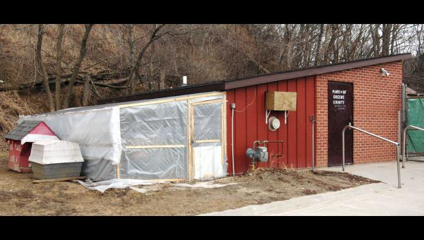 The Greene County Animal Shelter has been called the city of Jefferson's worst facility. After the city and county jointly declined to build a new facility, a private fundraising drive got underway. The committee has so far raised half of what they'll need. HERALD FILE PHOTO