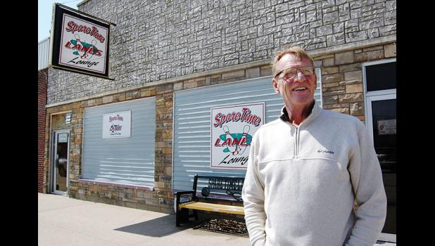 Steve Hance, standing outside his band's old stomping ground, recently unearthed a tape of Elm Street Grocery live in concert, a priceless artifact from an era when teen rock bands were the real deal. ANDREW McGINN | JEFFERSON HERALD