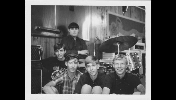 Elm Street Grocery Mk. 1: Rick Arbuckle (from left), Hank Davis, Jim Heath, Scott Sutherland and Steve Hance.