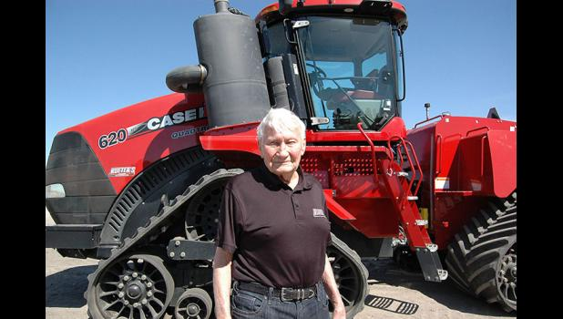 "Now 92, Cecil Rueter has been in the farm equipment business since 1951, when he opened a successful Massey-Harris implement dealership in downtown Grand Junction. ""He's still got the drive,"" says oldest son Kim Rueter. ANDREW McGINN 