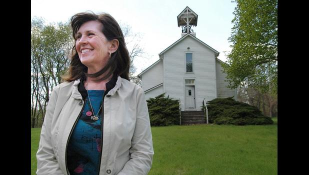 """It needs to become part of the community again,"" Peg Semke says of Pleasant Hill Church, built in 1881 near Squirrel Hollow Park. Pleasant Hill will get a new lease on life May 27-28 when Pleasant Hill Memorial Inc. and the Greene County Historical Society partner to host plein air artists and a service Memorial Day weekend. The churchyard will be open to picnickers. ANDREW McGINN 