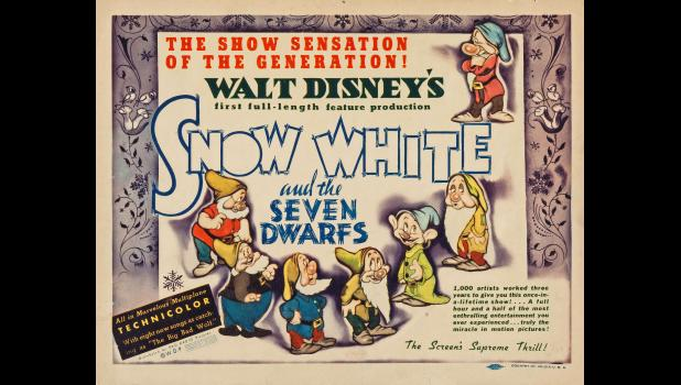 "Walt Disney's ""Snow White and the Seven Dwarfs"" was so eagerly anticipated by moviegoers in Jefferson that it played on a continuous loop in 1938, a particularly dire year in the Great Depression."