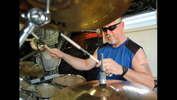 drummer Hank Muzney