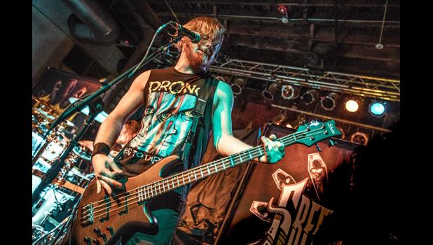 Green Death bassist Parker Willis a 2015 Greene County High School grad, is signed to Combat Records