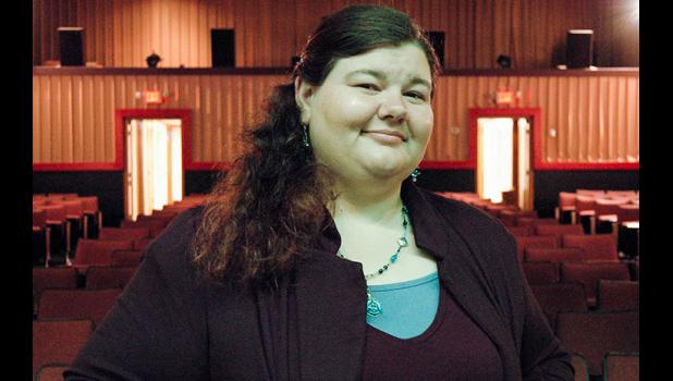 Jefferson native Sarah Nicholson is the new manager of the Sierra Community Theatre. ANDREW McGINN | JEFFERSON HERALD