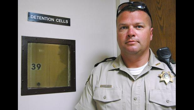 """It's constantly full,"" Sheriff Jack Williams says of the Greene County Jail, which can only hold eight people. ANDREW McGINN 