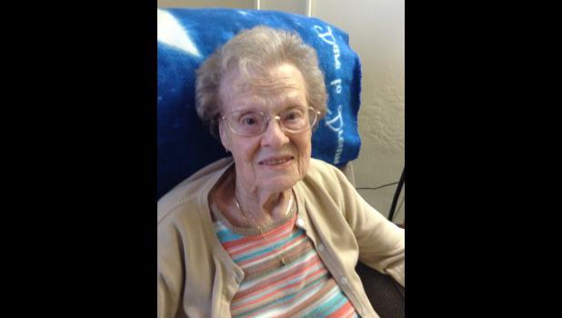 Helen Nelson, the Prettiest Red Head in Greene County recently turned 104.