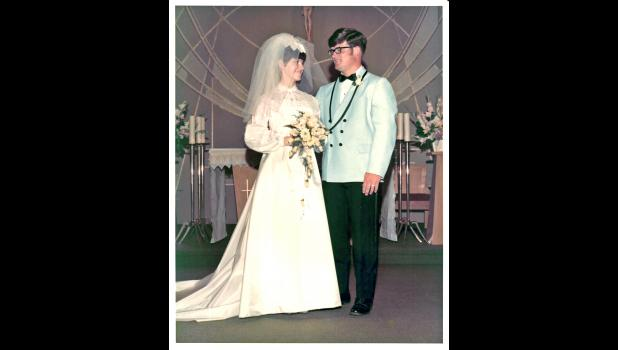 Karen and Steve McCoy were married June 27, 1970, at St. Joseph Catholic Church.