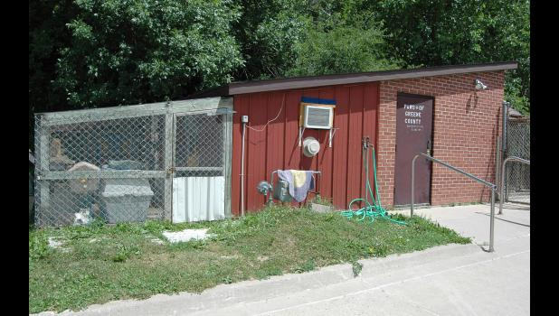 """""""The building is terrible,"""" City Councilman Dave Sloan says of the Greene County Animal Shelter. Still, Sloan faces an uphill battle to convince the rest of the council a new shelter is a priority. ANDREW McGINN 