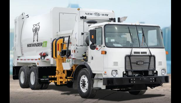 Garbage collection in Jefferson is going automatic later this summer with the city's purchase of a Scranton-built New Way Sidewinder. The city will also distribute new cans to every residence that the truck can pick up.