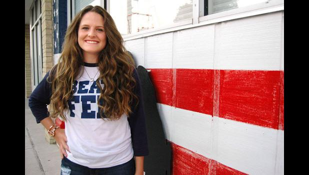 American girl: Greene County High School senior Haley Hall is one of just two Iowa girls selected for Girls Nation, a revered civics education program sponsored by the American Legion. ANDREW McGINN   JEFFERSON HERALD