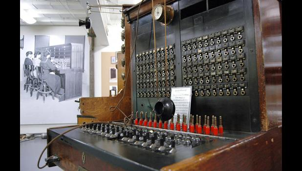 From switchboards to smartphones: Once finished, the renovated Jefferson Telecom museum will be a showcase of phone technology past, present and future. ANDREW McGINN | HERALD PHOTO