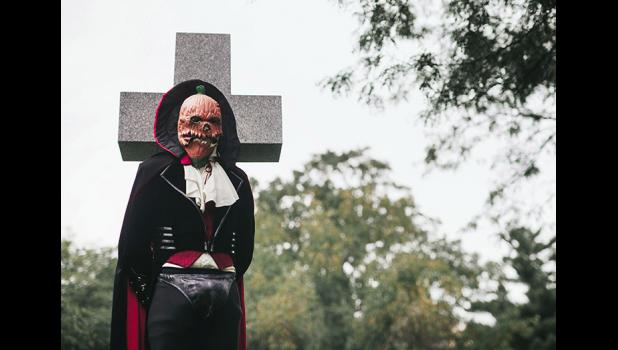 """""""I was just hoping they would come out and physically protest,"""" Jonas Eberle says of a recent social-media campaign against his masked alter-ego, Count Spookula. """"That would've been fun."""""""