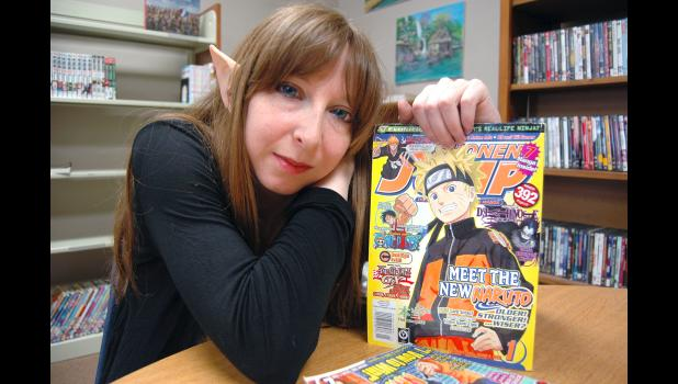 Anime and manga fan Amber Love, director of the Paton Public Library, brought the idea of a con to her fellow Greene County librarians. The idea sat on a shelf for two years before the GC Mini-Con became a reality last year. ANDREW McGINN | JEFFERSON HERALD