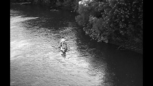 No tent, no clue and a 10-pound bag of potatoes: Jefferson natives Tim Donovan and Rich Stream float down the river in the summer of 1970. Destination: Lake Red Rock. Forty-eight years later, the duo is back at it, this time walking Iowa from east to west along the Lincoln Highway.