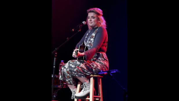 """American Idol"" winner Maddie Poppe, the first Iowa native to win the reality singing competition, performs Friday night at Wild Rose Casino in Jefferson. NICESWANGER PHOTOGRAPHY"