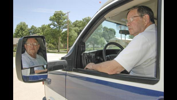 "Dennis Morlan, a Jefferson native who returned home more than 30 years ago to operate Greene County EMS with wife and fellow paramedic Marcia, announced his intention to retire in early April.  ""Physically,"" he told the Greene County board of supervisors in May, ""I should not be working as hard as I have to."" HERALD FILE PHOTO"
