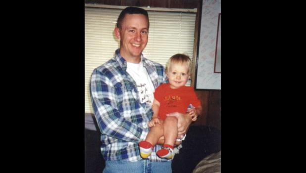 Dad and Syd: Sean Schiltz joined the fire department in 1994. His daughter, Sydney Schiltz, who was born in 1999, is only the third woman to serve as a firefighter in Jefferson.