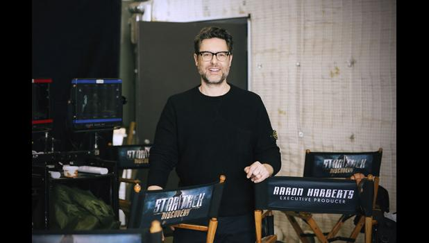 "Showrunner Aaron Harberts has deep roots in Jefferson as the grandson of the late Don Coon. He's now making a contribution to the ""Star Trek"" franchise, of which there are more than 750 hours of TV shows and movies. ""We've added 15 hours to that,"" he says. JAN THIJS 
