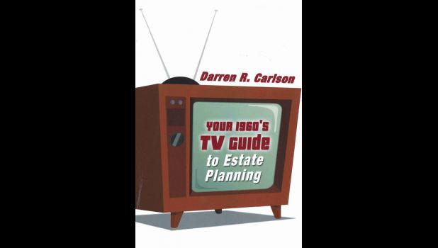Paton native Darren Carlson's first book aims to make estate planning entertaining.