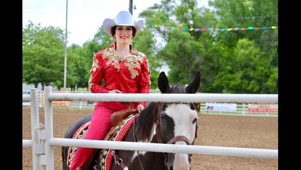 The making of a rodeo queen: with her paint horse Max