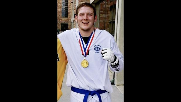 """When I was little, Teenage Mutant Ninja Turtles was my thing,"" says Smith, who won a national taekwondo sparring title in 2016 while at Iowa Central Community College in Fort Dodge."