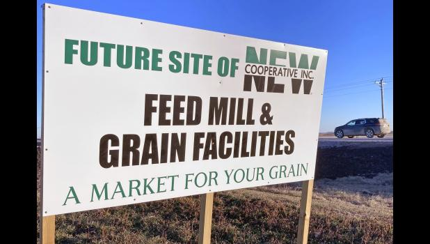 The new feed mill near Cooper will use 8.5 million bushels of corn annually in order to manufacture 400,000 tons of feed for hogs in a 45-mile area.