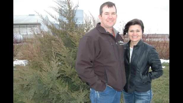 Bruce and Jenny Wessling, of rural Grand Junction, have been named the U.S. pork industry's top environmental stewards for 2014. They finish nearly 19,000 hogs annually under contract with Cargill Pork.