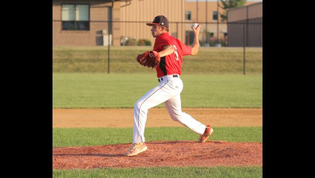 Greene County's Austin Delp was named to the HOIC first team. BRANDON HURLEY | JEFFERSON HERALD