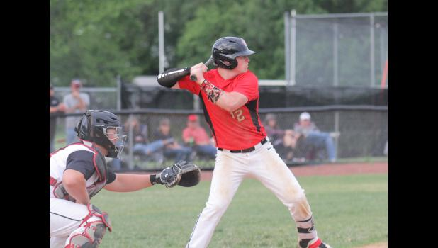 Greene County's Nick Breon, one of the state's top defensive shortstops, was named to the HOIC second team.  BRANDON HURLEY | JEFFERSON HERALD