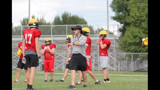 First year Greene County head coach spent the past three years as an assistant at Panorama. BRANDON HURLEY | JEFFERSON HERALD