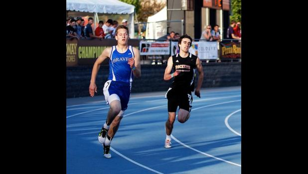 Paton-Churdan's Jake Carey competed in the 1A 400 meter dash. Carey ran the distance in 53.26 seconds.