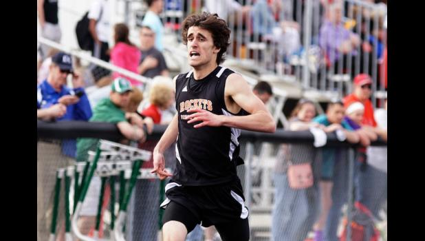 Paton-Churdan's Jake Carey set a new school record in the 800 meter run  and will return to the state meet in that event next week. Carey will find out tomorrow whether he will also be eligible to run the 400 meter race.