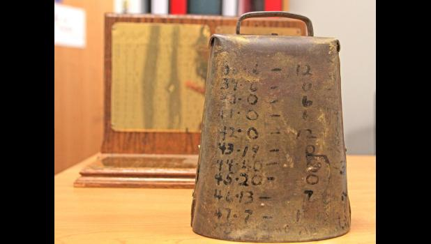 The original Cowbell, which was first created in 1928, has been in position of the Greene County football team for the past two years.
