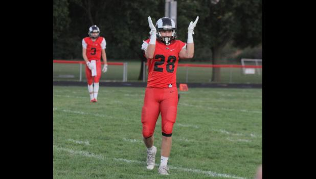 Greene County linebacker Austin Delp was named to the All-District 9 second team following the 2018 season. The senior picked off two passes and tallied 47 tackles.  BRANDON HURLEY | JEFFERSON HERALD