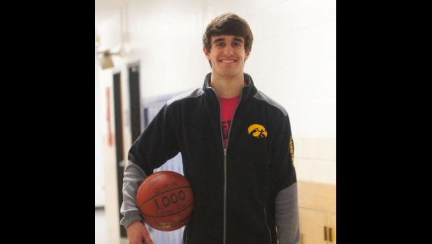 Paton-Churdan's senior Jake Carey became the district's all time scoring leader before Christmas and now has 1029 career points. Carey, who is currently averaging 18 points per game this season still has 13 conference games and at least one tournament game to increase that total.