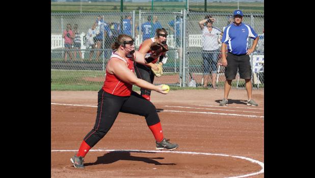Senior Marissa Promes pitched a two hit shut out, and the Ram defense stepped up to keep Crestwood's runners off of the bases. Greene County improved their record to 31-6.