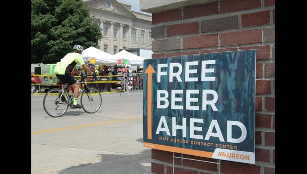 Free beer? 'Nuff said. ANDREW McGINN | JEFFERSON HERALD