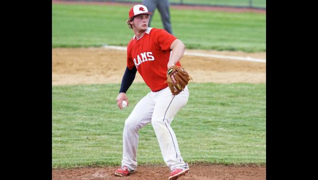 Riah Nelsen had an excellent game versus PCM on May 28. Not only did he pitch his first career no-hitter, he also drove in 4 runs.