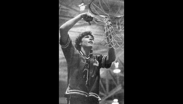 (Photo cutline from a 1988 Jefferson Herald) Net Work  Jeffette senior Trisha Waugh, a first team All-American, clipped the net from a Denison basket Friday night after her team's victory over Atlantic advanced Jefferson/Scranton to the girls' state basketball tournament. Their first round is Wednesday, March 9 at 1 p.m. against Garnavillo. See inside today's Bee for a special section on Friday's regional final and more.